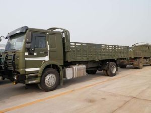 China 4X4 Awd Flatbed Truck (10 cbm) pictures & photos