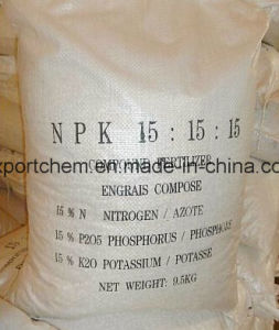 Hot Sell of Granular Compoud NPK Fertilizer pictures & photos