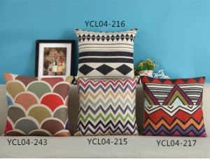 Geometry Digital Printed Cushion Fashion Decorative Cushion (YCL04-243) pictures & photos