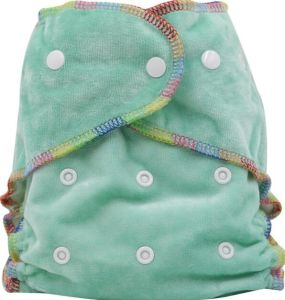 Organic Bamboo Cloth Diapers, Bamboo Velour Diapers