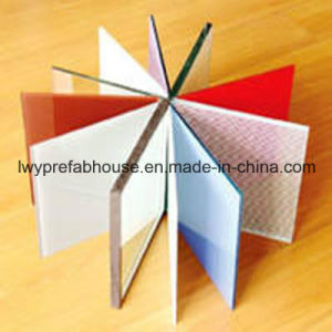 Tempered/Laminated Low-E Colored Glass for Multi-Purpose