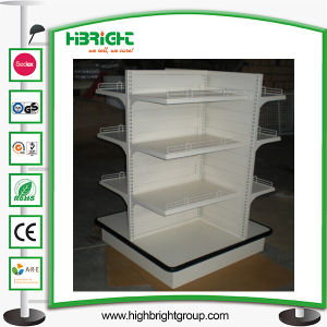 Four Sided Metal Shelves for Shops pictures & photos
