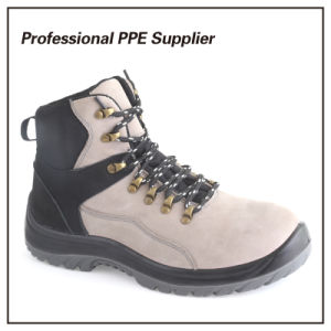 High Cut Genuine Leather Safety Work Boot pictures & photos