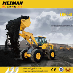 Sdlg 5t Wheel Loader for Sanding and Quarry (LG956L) pictures & photos