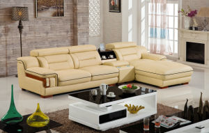 Modern Europe Genuine Leather Sofa (S3189) pictures & photos
