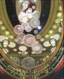 Modern Hotel Decorative Ball Optical Fiber pictures & photos
