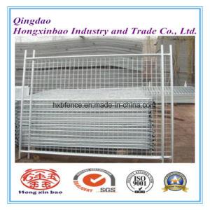 6′x10′ Hot DIP Galvanized Outdoor Construction Site Portable Canada Temporary Fence pictures & photos