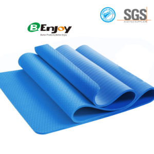 Hot Selling High Quality Custom Logo Printed TPE Yoga Mat pictures & photos