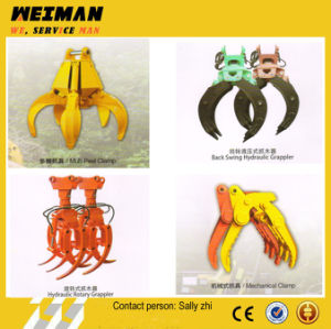 Brand New Log Grapple Excavator Made in China pictures & photos