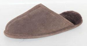 Sheepskin Slipper for Women and Girlsmb10037m Stone.