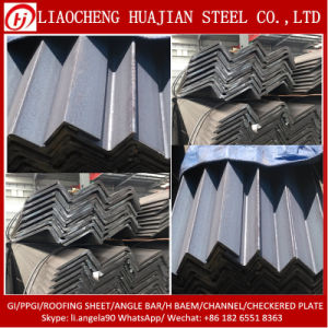 A36 Q235B Q345b Material Angle Steel Bar for Construction pictures & photos