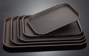 Skidproof Unbreakable Plastic Trays for Restaurant & Hotel Supplies pictures & photos