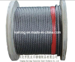 Constr. 7X19; Dia. 4.0mm; Stainless Steel Wire Rope-SUS316 pictures & photos