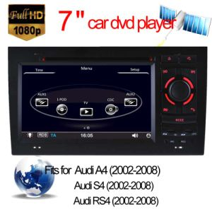 Car DVD Player for Audi RS4/A4 GPS Navigator DVB-T Tuner pictures & photos