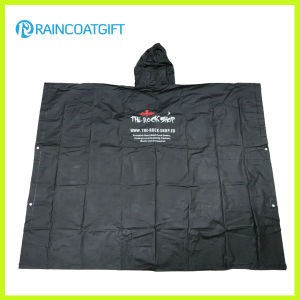 Promotional Disposable Clear PE Rain Poncho (Rvc-121) pictures & photos