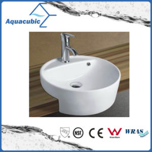 Ceramic Cabinet Art Basin and Apron Hand Washing Sink (ACB8169) pictures & photos