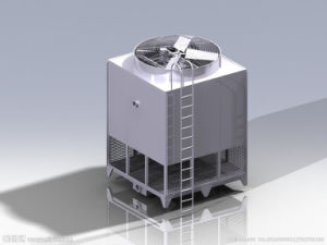 Water Cooling Tower for Cooling Tunnel pictures & photos