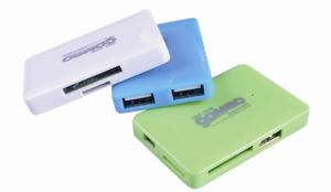 New Model USB Hub Combo with All in One Card Reader Style No. Cr-207 pictures & photos