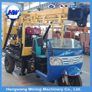 200m Trailer Mounted Portable Water Well Drilling Rig Sale in Africa pictures & photos