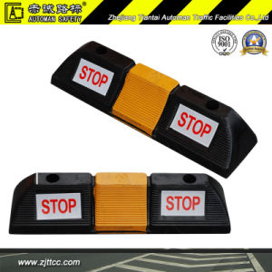 Industrial Rubber Car Wheel Safety Immobilizers & Chocks (CC-D04) pictures & photos