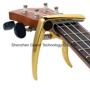 Ukulele Capo / Deluxe Ukulele Capo with Gold Bronze Black Colors pictures & photos