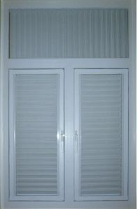 UPVC Shutter Window (WX-W307) pictures & photos