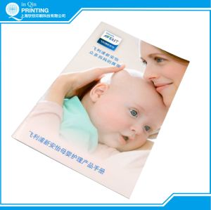 Full Color A4 Saddle Stitch Booklet Printing pictures & photos