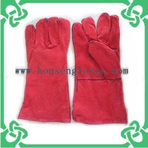 Long Sleeve Welding Gloves of Work Gloves