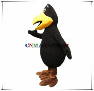 Great Design Customized Type Crow Mascot Costume pictures & photos