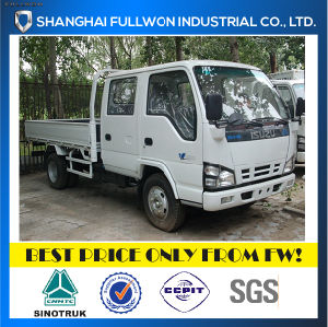 Isuzu Light Duty 600p Double Row Payload 2-4 Ton Cargo Truck pictures & photos