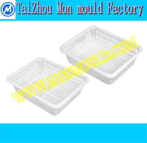 Plastic Kitchenware/ Rice Washer Fruit Plate Mould pictures & photos