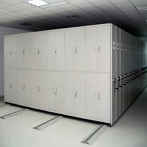 6 Layer Steel Storage Manual Mobile Shelving, Metal Smart Mobile File Rack, Mobile Rack pictures & photos