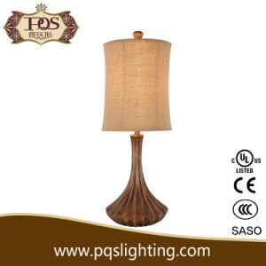 Polyresin Shell Table Lamp for Lighting and Decoration (P0034TA)