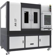 High Precision Small Size Fiber Laser Cutter Machine Ak-17 pictures & photos