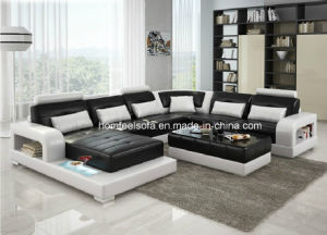 Italian Modern Leather Sofa (S645#)