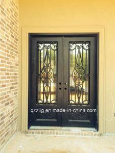 Iron Elegant Double Entrance Door (ZY-IR077)