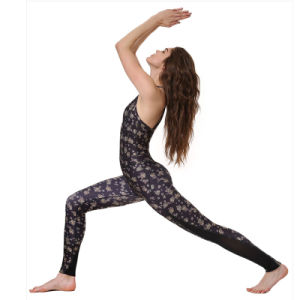 High Quality Digital Nylon Yoga Pants Women Legging Tank Top pictures & photos