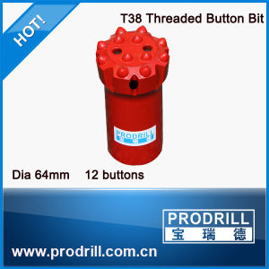 Carbide Drill Bit Soft Rock Thread Drill Bits to Very Hard Rock Button Bits pictures & photos