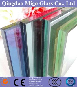 Colored Reflective Laminated Building Glass with Ce /SGS/ISO Certification pictures & photos