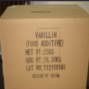 Ethyl Vanillin Powder Fragrance Vanillin pictures & photos