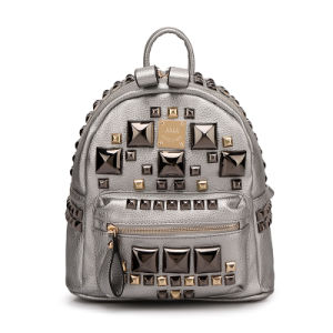 The Coolest Stylish Fashion Retro Women Mini Leather Backpack pictures & photos