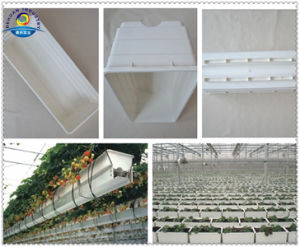 Plastic Garden Trough with Square Drainoutlet pictures & photos