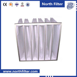 En779 G3 HVAC Sythetic Fiber 4V Bag Filter pictures & photos