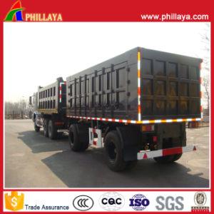 Heavy Duty Van Body Double Cargo Truck Trailer Fpr Sale pictures & photos