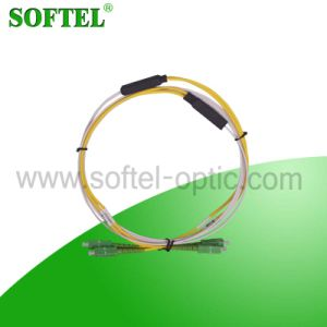 Sc/APC to Sc/APC Sm Duplex LSZH Drop Cbale Patch Cord pictures & photos