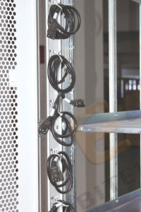 "19"" Electrical Rack with Front Double Flat Vented Doors pictures & photos"