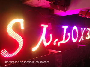 Metal Shell Programmable Animation Advertising LED Signs, LED Display Sign pictures & photos