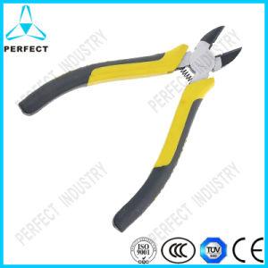 Soft Non-Slip Handle Carbon Steel Diagonal Pliers pictures & photos