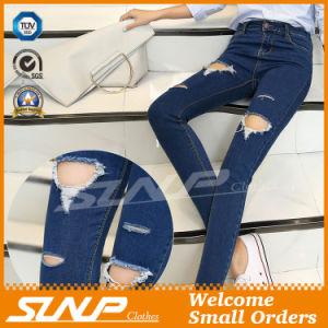 Ripped Jeans Pants Denim Pants Hole Pant pictures & photos
