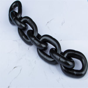 G 80 Iron Steel Metal Black Link Chain pictures & photos